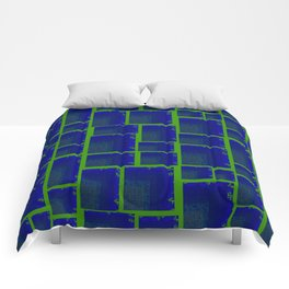 Vibrant Tetris Comforters