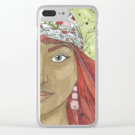 Shiphrah Clear iPhone Case