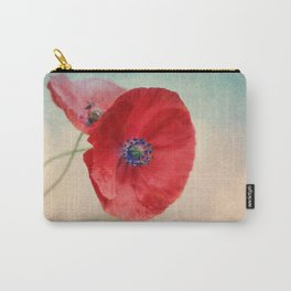 Poppies vintage(5) Carry-All Pouch