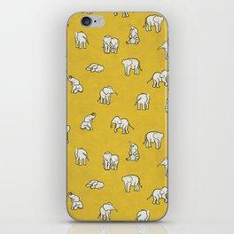 indian baby elephants iPhone Skin