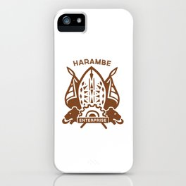 Harambe Crest iPhone Case