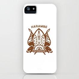 Harambe Crest iPhone Case