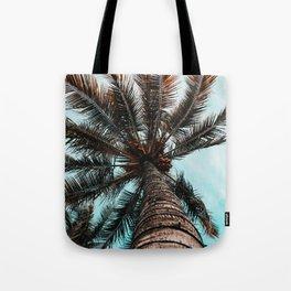 Palm View Tote Bag