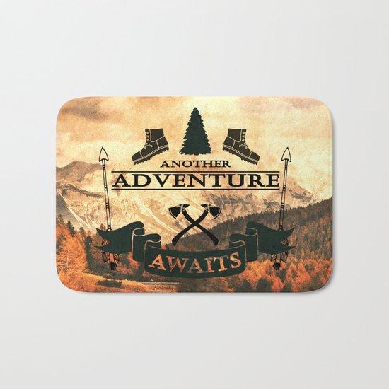 Another Adventure Awaits Bath Mat
