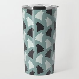 Howl with the wolves Travel Mug