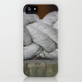 Tied To You iPhone Case