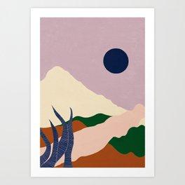 Intangible Land II Art Print