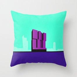 De Rotterdam Koolhaas Architecture Throw Pillow
