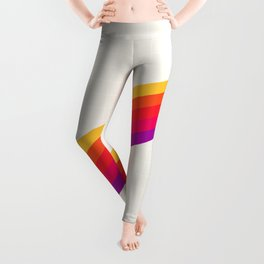 VHS Rainbow 80s Video Tape Leggings
