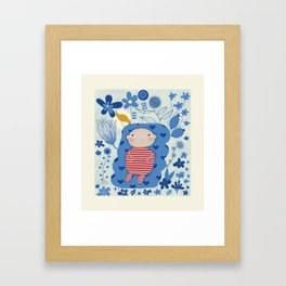 Welcome little one Framed Art Print