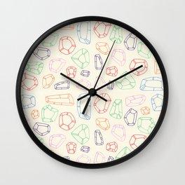 semiprecious Wall Clock