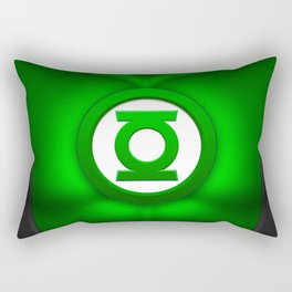 Green Lantern: Superhero Art Rectangular Pillow