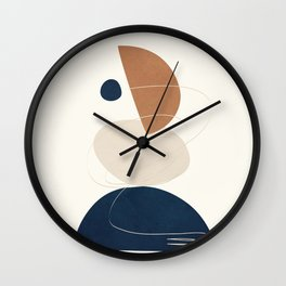 Spiraling Geometry 3 Wall Clock