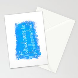 Kindness is Underrated Stationery Cards