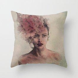 """""""Blossom"""" Throw Pillow"""