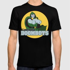 Latveria Doombots MEDIUM Black Mens Fitted Tee