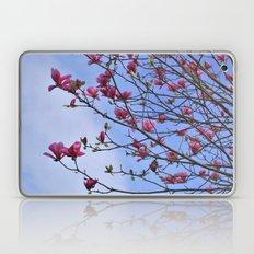 tulip magnolia Laptop & iPad Skin