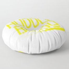 """""""Huddle Buddy"""" tee design for friends and family of yours!Makes a nice and perfect gift this holiday Floor Pillow"""