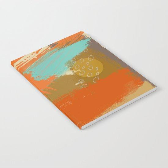 Secret Places, Abstract Landscape Art Notebook