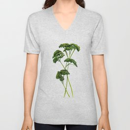 A Bunch of Parsley Unisex V-Neck