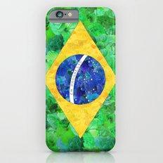 BRASIL em progresso Slim Case iPhone 6s