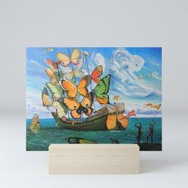 Salvador Dali 3 Mini Art Print