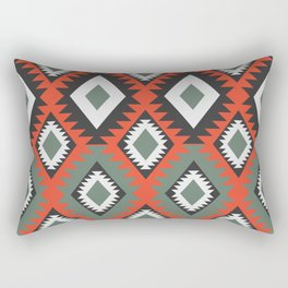 Geo ethnic diamonds Rectangular Pillow