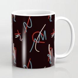 Postmodern Neon 80s Lights No.1 Coffee Mug