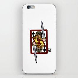 Ogier the Dane: Jack of Spades iPhone Skin