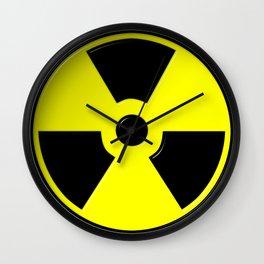 Nuclear Symbol Wall Clock