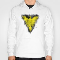 x men Hoodies featuring Phoenix - X-Men by Trey Crim