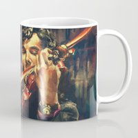 painting Mugs featuring Virtuoso by Alice X. Zhang