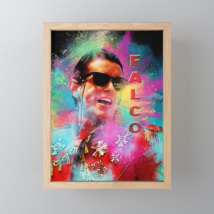 Colorful Dust Falco Framed Mini Art Print