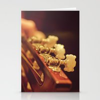 spanish Stationery Cards featuring Spanish Guitar by Ti Amo Foto