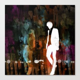 The invisible man... Canvas Print