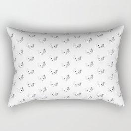 Winter Snow Fox Rectangular Pillow