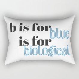 B is for Rectangular Pillow