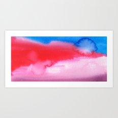 Weird Sky Art Print