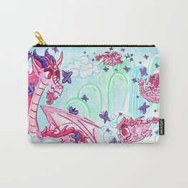 Dragon in the Hills Carry-All Pouch