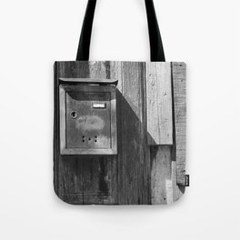Mailbox in the sun Tote Bag