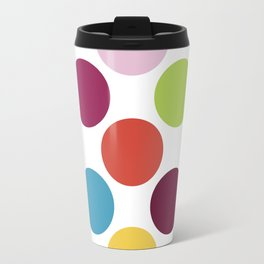 Colorful Dots Travel Mug