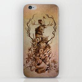 Cute Totem iPhone Skin