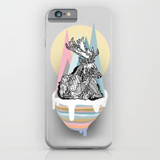 dreaming deer iPhone & iPod Case