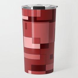 Shades of Red Travel Mug