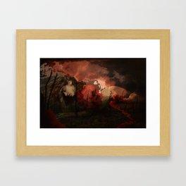 casualty of war Framed Art Print