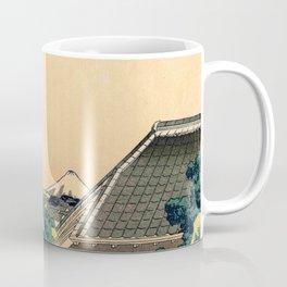 Hokusai -36 views of the Fuji 5 From the mishima pass Coffee Mug