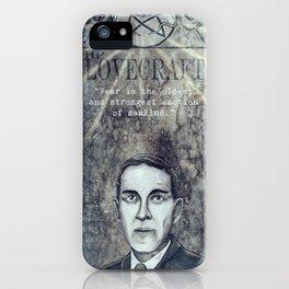 Hp-Lovecraft iPhone Case