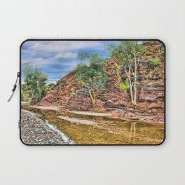 Rocks at Brachina Gorge, Flinders Ranges, Sth Australia Laptop Sleeve