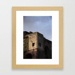 Serrara Fontana Framed Art Print