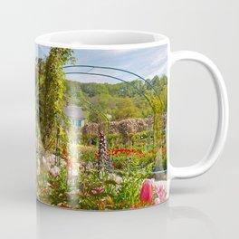 Claude Monet's garden at Giverny Coffee Mug